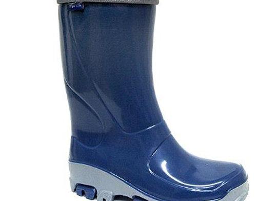 RBB23_492_0775_R Navy Rain Boots