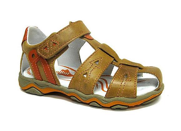 RBB21_3271C_CS Cognac Leather Sandals