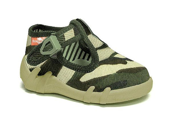 RBB13_102_P0138 Camouflage Canvas Shoes
