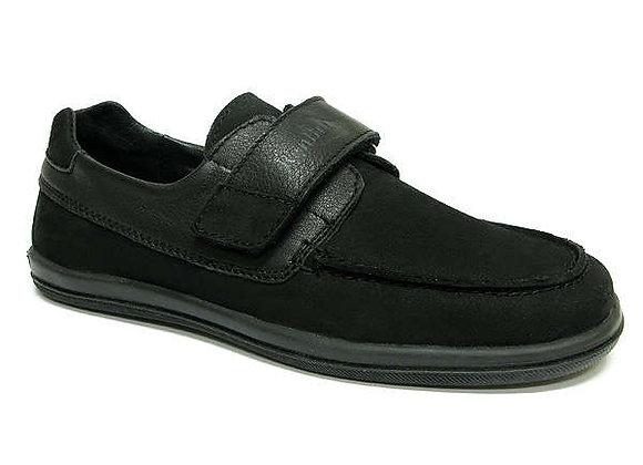 RBB33_4249_0066_D Black Nubuck Shoes