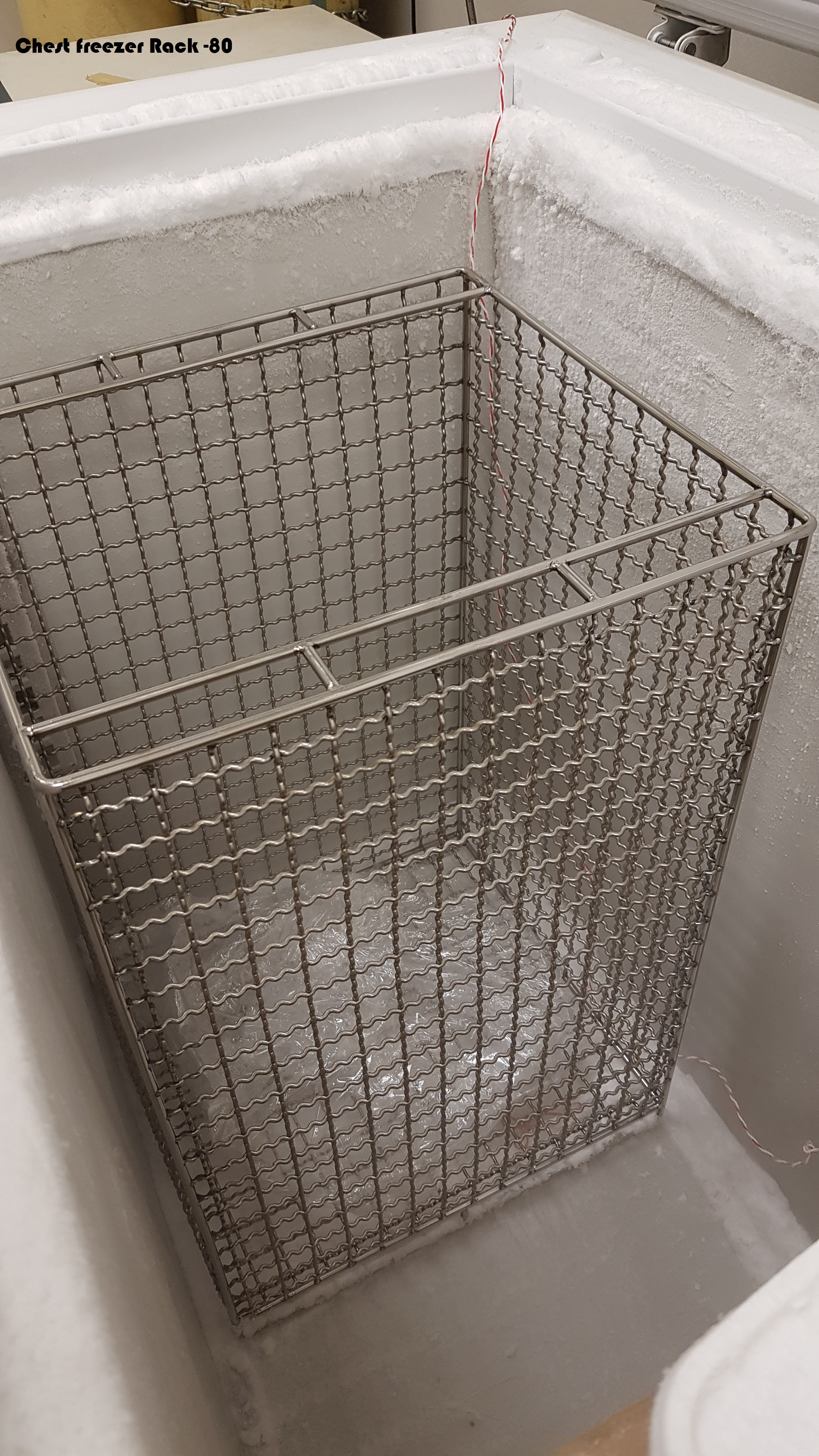 (-80) S/Steel freezer basket