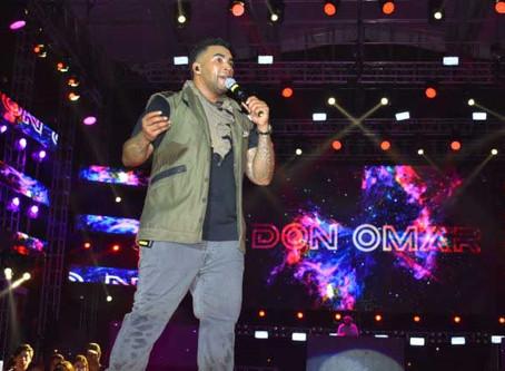 Machala celebró sus fiestas al ritmo de los éxitos de Don Omar