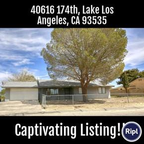 40616 174th, Lake Los Angeles, CA 93535