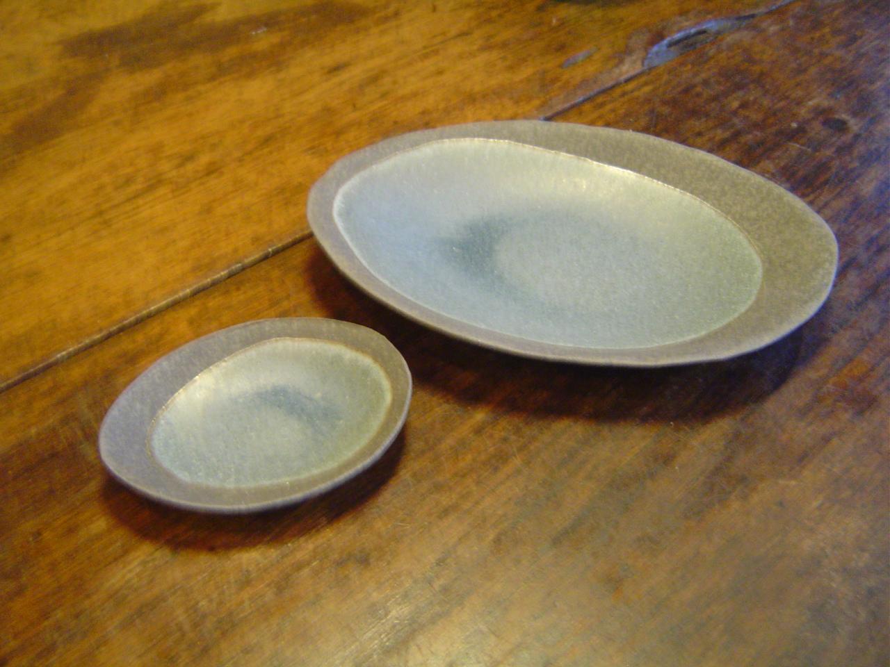 楕円皿氷香&取皿氷香