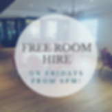 Free room hire at Buckerell Lodge