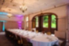 Private dining at Makeney Hall