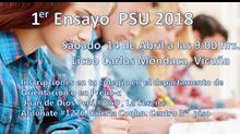 Primer Ensayo PSU 2018