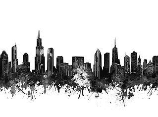 chicago-skyline-black-and-white-bekim-ar