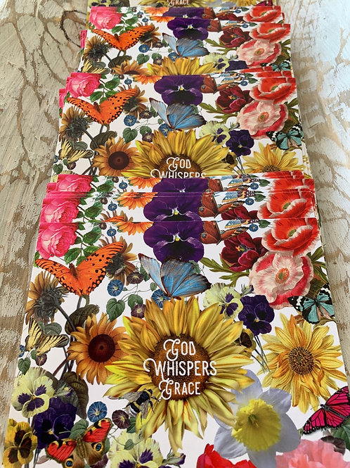 God Whispers Grace Postcards