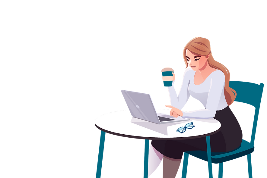 Lady computer and a coffee@2x.png