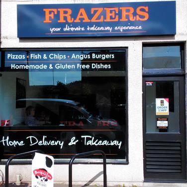 Our shop front in Trowbridge