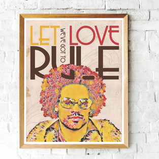 """Let Love Rule"" Lenny Kravitz"