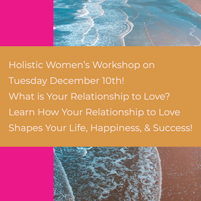 Workshop~ What is Your Relationship to Love?