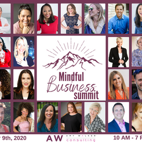 Online 2020 Mindful Business Summit; Peace, Prosperity, & Perspective!