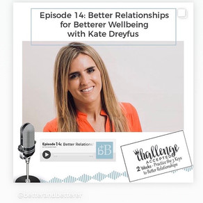 "Podcast~ ""How Improving Your Relationships Improves Your Wellbeing!"""