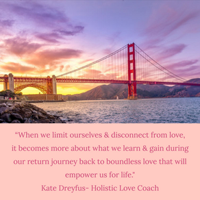 When We Begin to Disconnect & Limit Ourselves From Love...