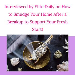 Interviewed by Elite Daily on How to Support Your Wellbeing After a Breakup!