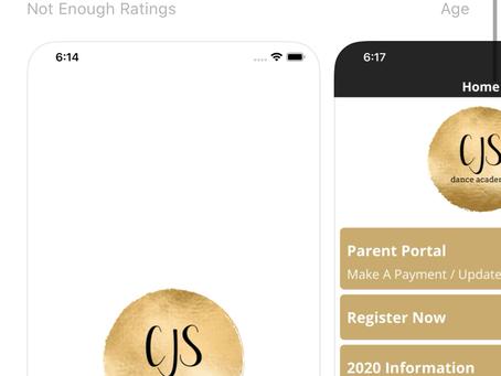 New CJSDA App!