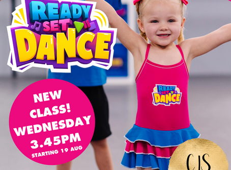 New READY SET DANCE class