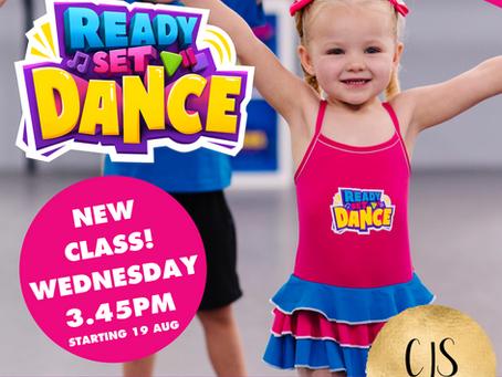 New READY SET DANCE class