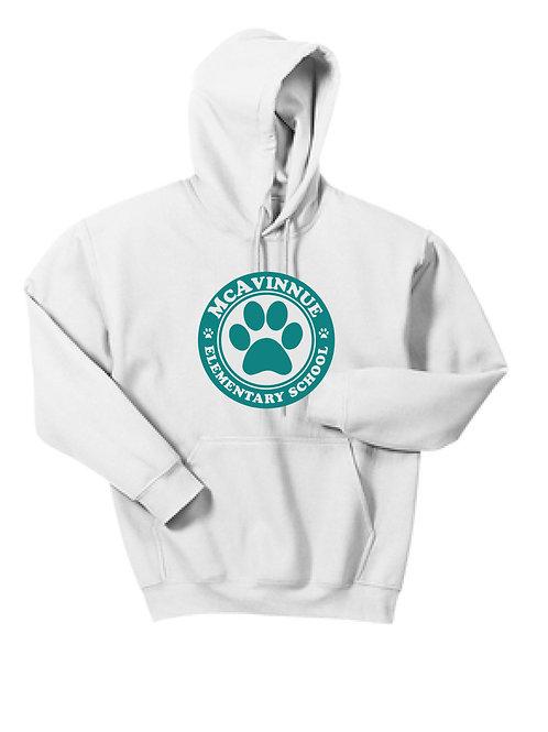 Paw Pullover hooded sweatshirt