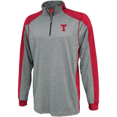 TMS 100% polyester 1/4 Zip