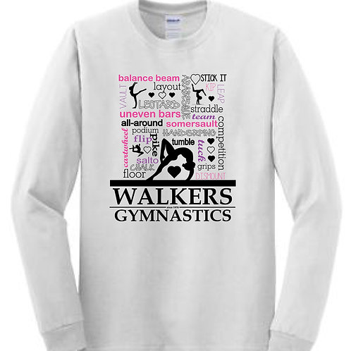 GYMNASTICS Graphic Longsleeve T-shirt