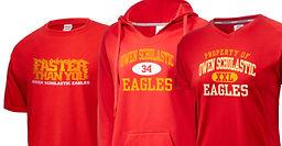 Order your custom school sport team apparel