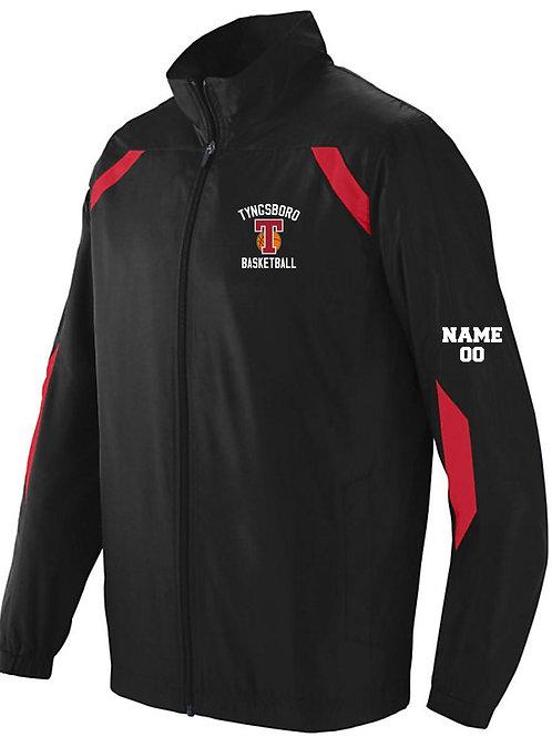 100% polyester Warm-up Jacket