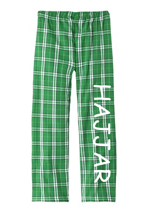 Cotton Plaid Pants