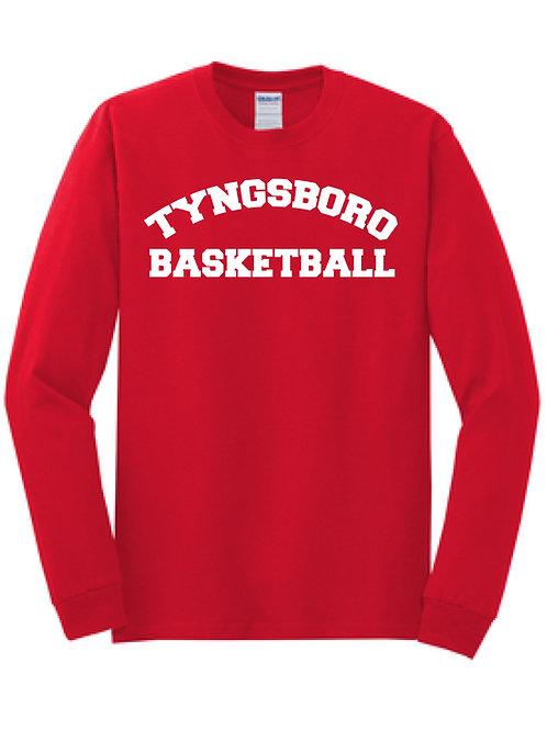 Tyngsboro Basketball Longsleeve