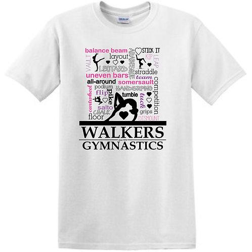 GYMNASTICS Graphic T-shirt