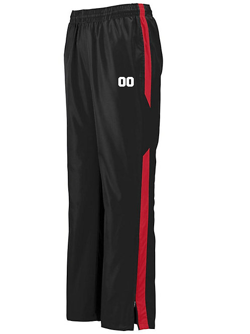 100% polyester Warm-up Pants
