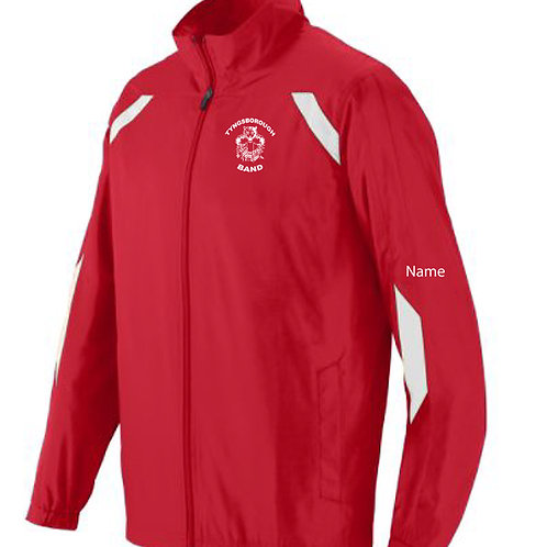 100% polyester warm up jacket