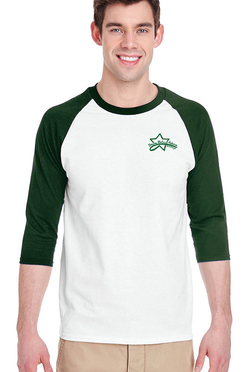 Mens 3/4 sleeve (STAFF ONLY)