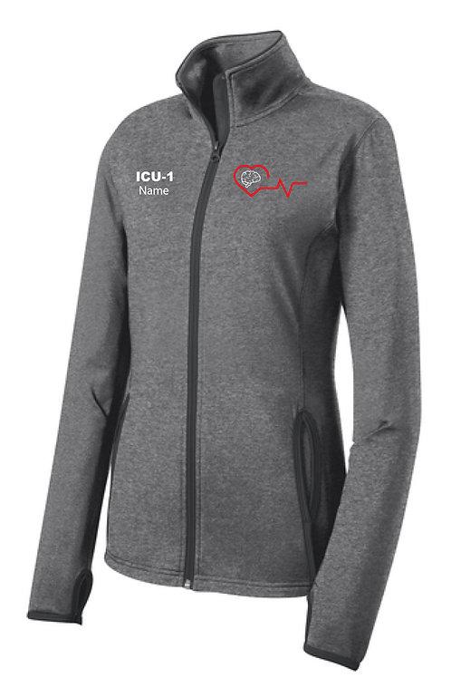 Sport-Wick® Stretch Contrast Full-Zip Jacket