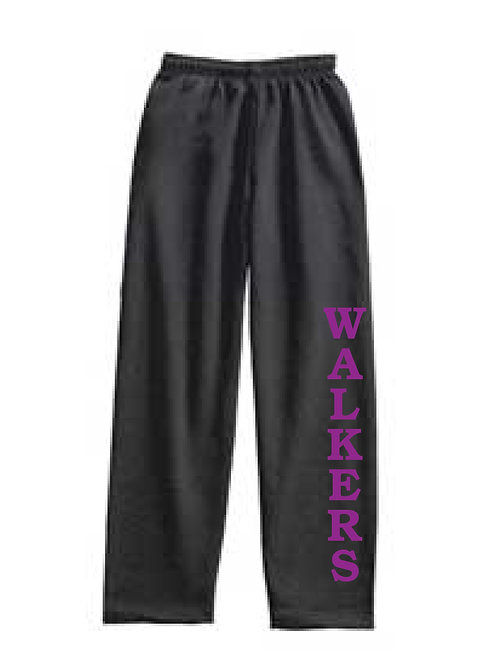 GYMNASTICS 10 oz. open bottom Sweatpants