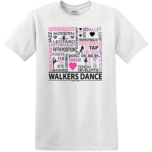 DANCE Graphic T-shirt