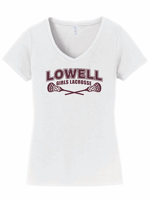 Ladies V-neck T shirt
