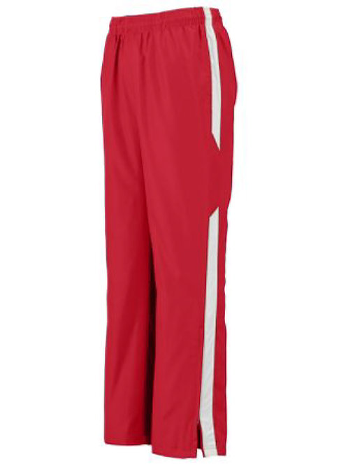 100% polyester matching warm up pants