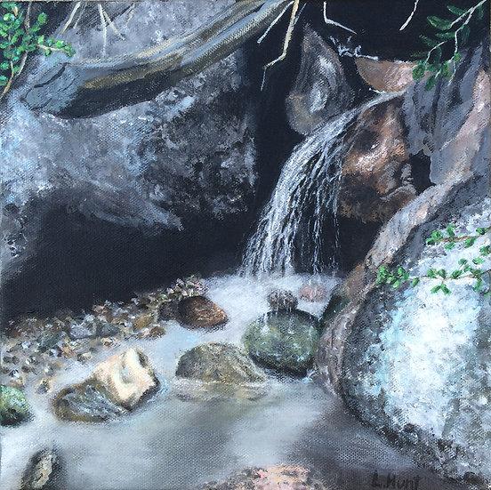 Mountain Stream - Original Fine Art