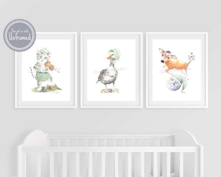 Mother Goose Nursery Rhymes Set