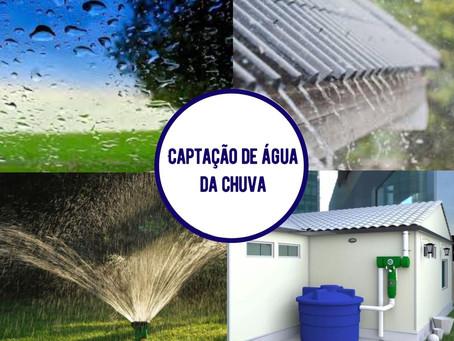 Captação de água da chuva