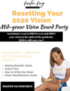 Resetting Your Vision Mid  Year Vision Board Party