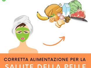 La corretta alimentazione per la salute della pelle