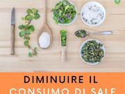 Diminuire il consumo di sale