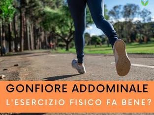 Gonfiore addominale: l'esercizio fisico fa bene?