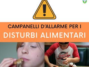 Campanelli d'allarme per i disturbi alimentari