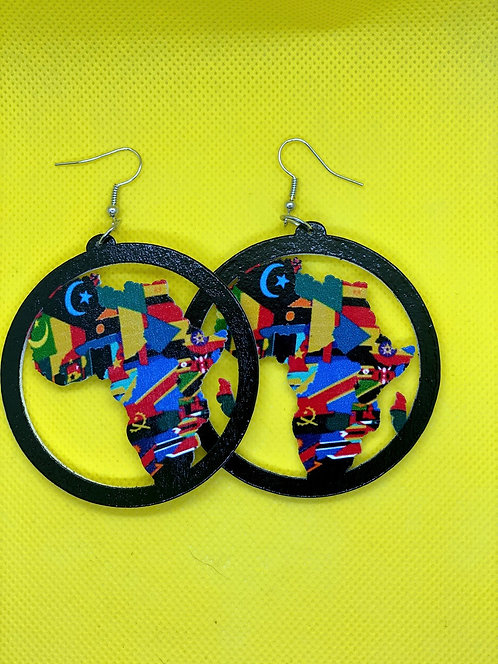 Africa Mosaic earrings