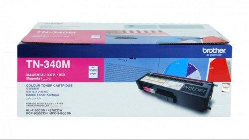 TN - 340M Toner Cartridge (Magenta- life : 1500 Pages),MRP- 4,140/-